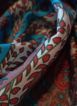 Richard allan винтажный шелковый платок5 фото