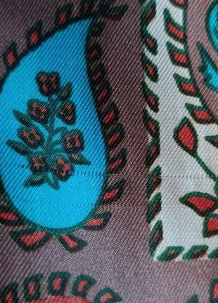 Richard allan винтажный шелковый платок7 фото