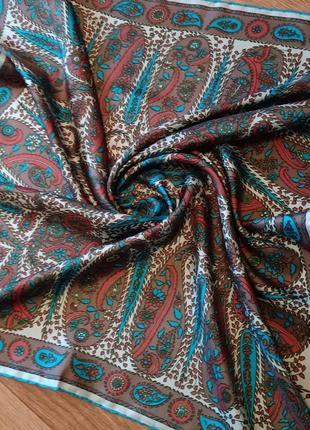 Richard allan винтажный шелковый платок2 фото