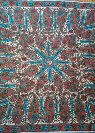 Richard allan винтажный шелковый платок1 фото