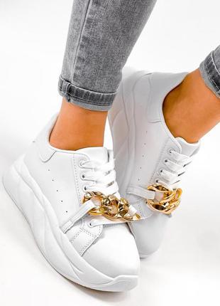 Кроссовки с цепью