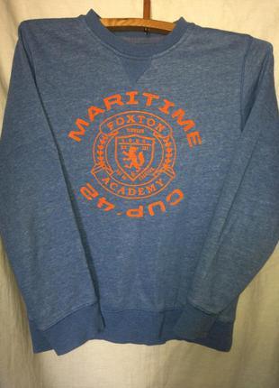 Logg толстовка с начесом свитшот теплый джемпер свитер