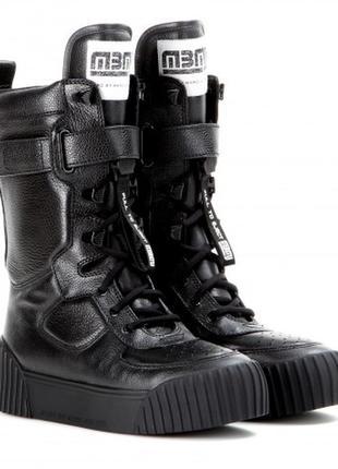 Новые ботинки marc jacobs оригинал сапоги сникеры редкие кожа