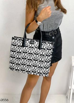 Сумка шоппер пинко pinko, сумка+рюкзак