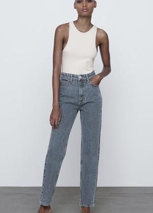 Нові джинси мом zara