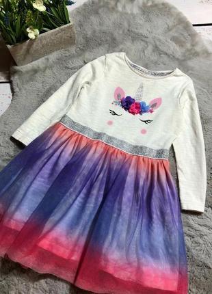 Пони стильное пышное платье