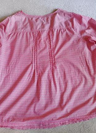 Натуральная хлопковая блуза большой размер батал5 фото