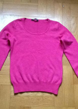 Кашемир и шерсть!!!! супер-мега тёплый яркий свитер!!