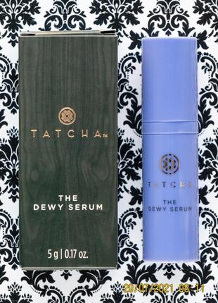 Люкс! омолаживающая сыворотка для лица tatcha the dewy serum 5 г