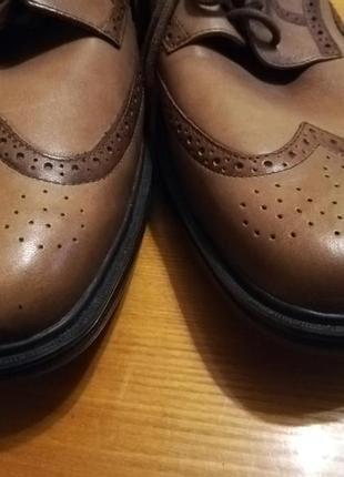 Последняя пара кожаные классические туфли3 фото
