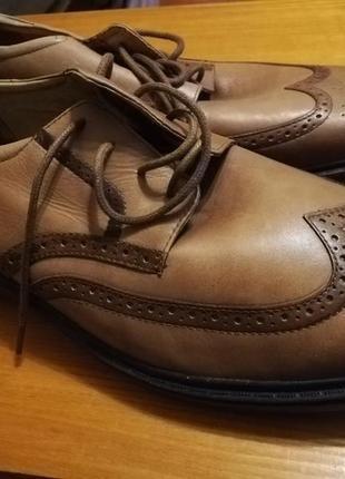 Последняя пара кожаные классические туфли2 фото