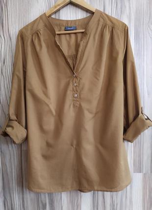 Легкая удлиненная рубашка