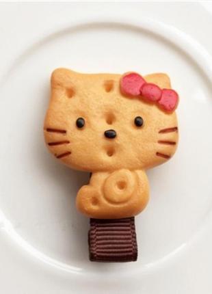 Заколочка- крекер-печенюшка