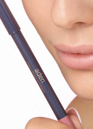 Матовый карандаш для губ аден мягкий италия