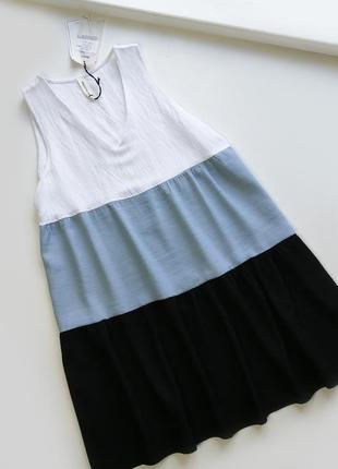 Свободное легкое летнее вискозное платье