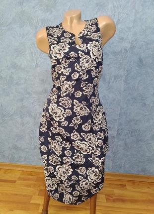 Шикарное платье миди футляр по фигуре с v образным декольте