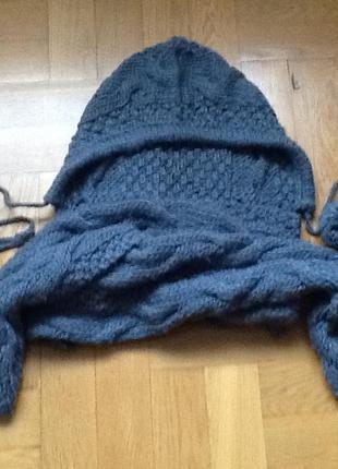 Неповторимый шарф с капюшоном
