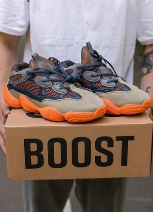 Мужские, женские кроссовки adidas yeezy 500 enflame