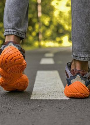 Мужские, женские кроссовки adidas yeezy 500 enflame7 фото