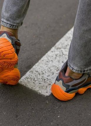 Мужские, женские кроссовки adidas yeezy 500 enflame8 фото