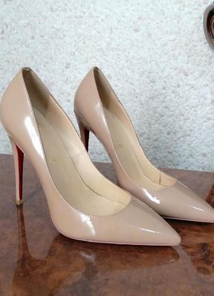 Лодочки туфли на высоком каблуке лабутены
