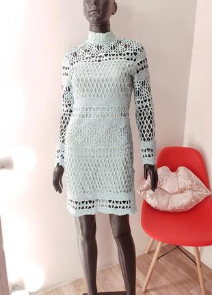 Шикарное ажурное платье ✨