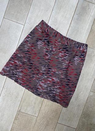 Летняя мини юбка ,принт,большой размер,батал(3)