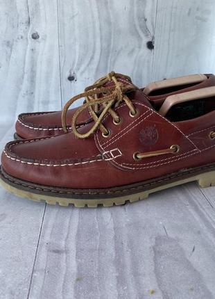 Timberland лоферы топсайдеры туфли