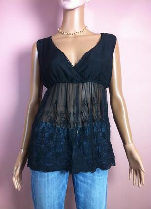 Шикарная шелковая блуза  made in italy