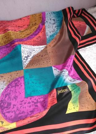Красивенный шёлковый платок loredano