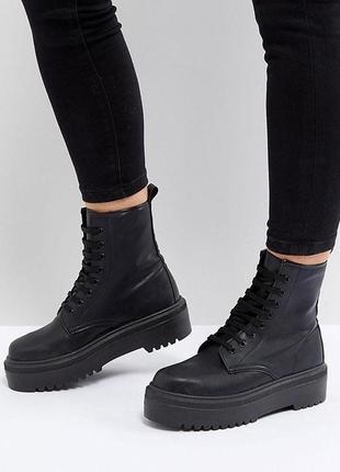 Массивные ботинки asos