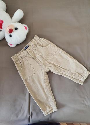 Штанишки брюки вельвет