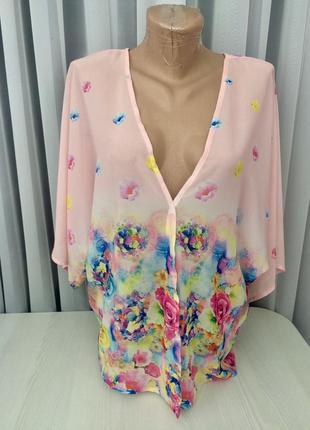 Блуза/накидка