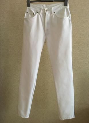 Белые мом джинсы donovan франция винтаж