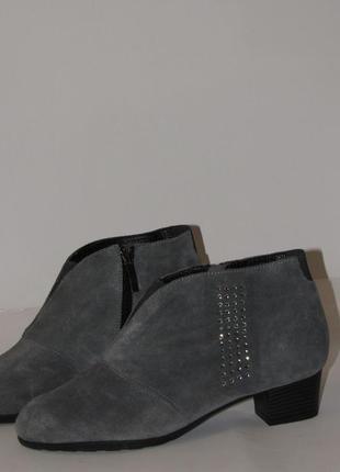 Damart женские замшевые ботинки  t2