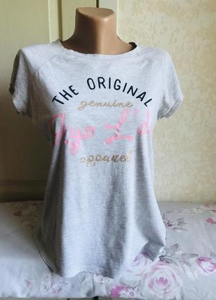 Сіренька футболка