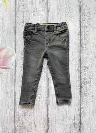 Крутые стрейч джинсы штаны брюки denim co размер 18-24мес