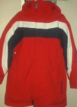 Лыжная куртка glissade на 5-7лет