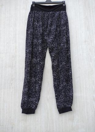 Летние лёгкие штаны брюкиоегкі оітні штани з візерунком
