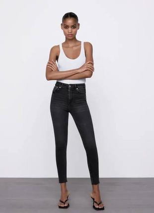 Трендовые скини от zara джинсы skinny