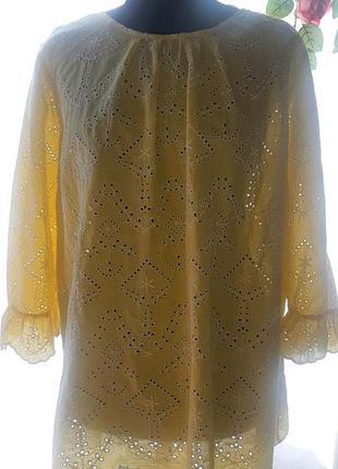 Красивейшая блуза, туника 🌺 прошва