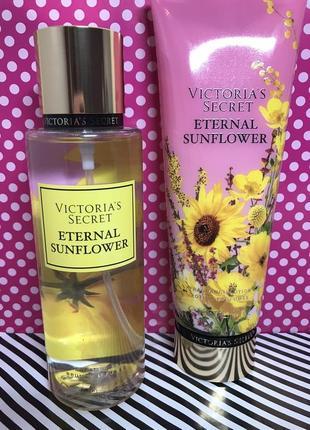 Набор victoria's secret eternal sunflower (спрей для тела и лосьен для тела)