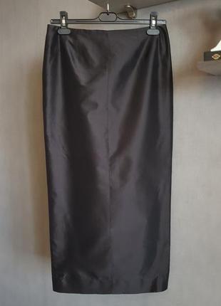 Роскошная длинная шелковая юбка
