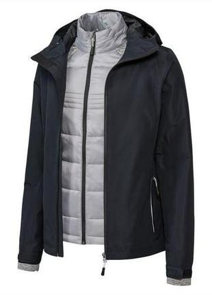 Мультифункциональная деми куртка crivit из германии ветровка р 36 2в1