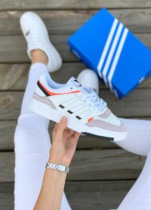 Кросівки adidas drop step 'white grey' кроссовки