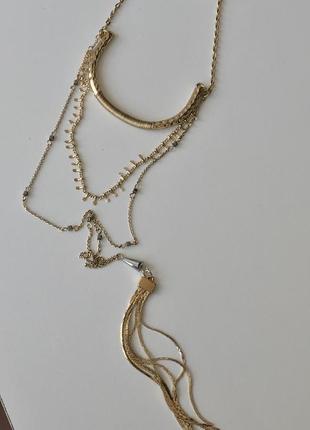 Длинная цепочка / ожерелье