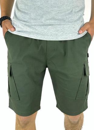 Мужские шорты miami хаки летние