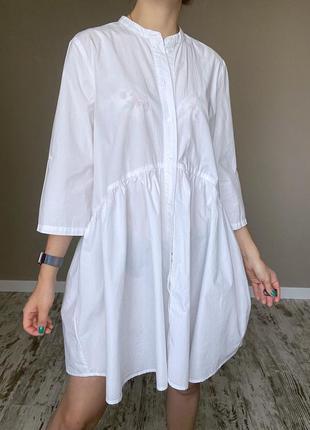 Хлопковое платье - зефирка
