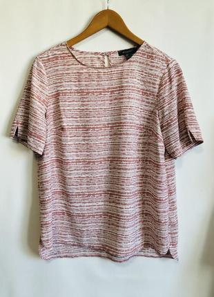 Блузка футболка летняя меланжевая нежной расцветки