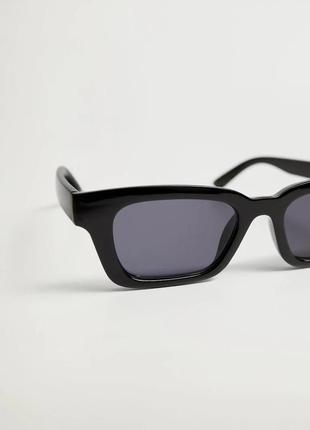 Солнцезащитные очки mango в квадратной оправе !